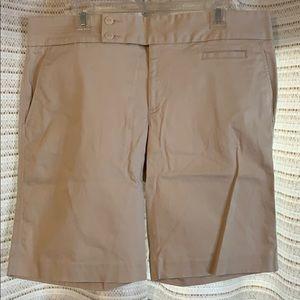 Size 18 Old Navy Khaki Bermuda Shorts